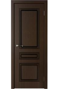 Межкомнатная дверь Стиль (КРОНА) венге глухая