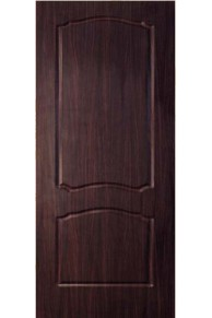 Межкомнатная дверь Альфа ПВХ ламинированная венге глухая.