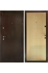 Входная металлическая дверь Дверной Континент Комфорт Беленый дуб