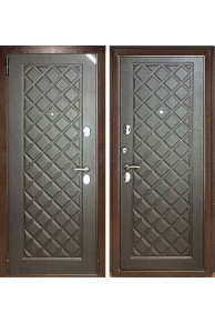 Металлическая дверь Зетта Евро 3 Б2 Венге