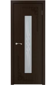 Межкомнатная дверь Византия (КРОНА) венге