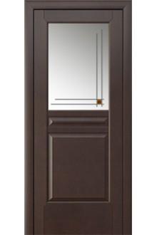 Межкомнатная дверь Артемида венге стекло