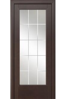Межкомнатная дверь Энома венге стекло