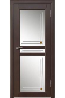 Межкомнатная дверь Артемида 2  венге  стекло